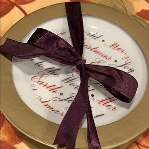 4 Christmas Dessert Dishes.